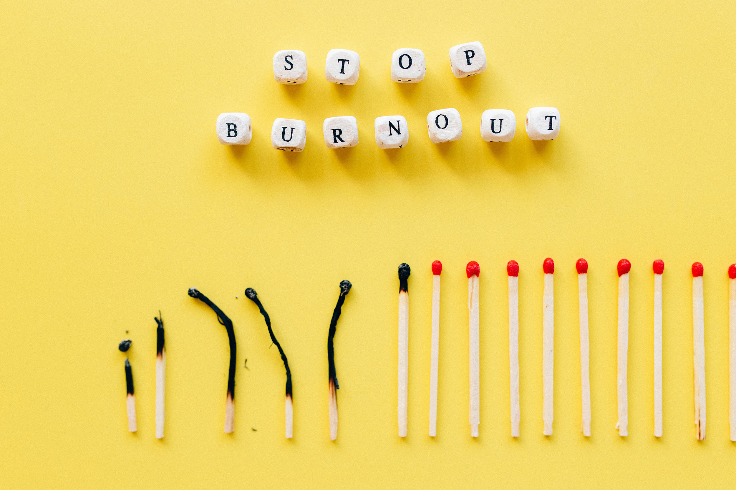 What mistakes might you be making with work burnout?